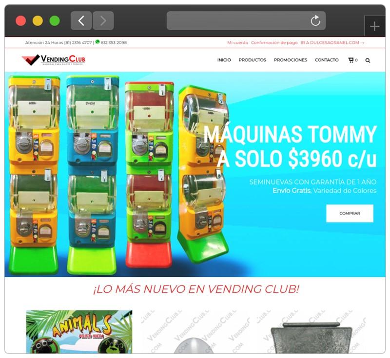 Diseño Web - Tienda en Linea